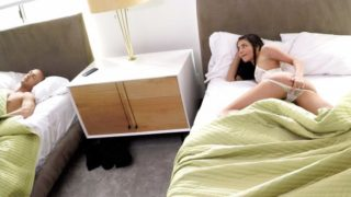 Adria Rae – Horny Step-Sister Slides Into Step-Brothers Bed